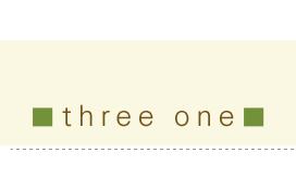 three one アメカジファッション